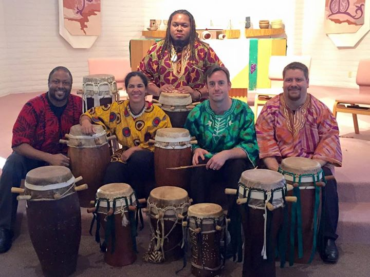 Ensemble Ndeye Soxna: Lendo Abdur-Rahman, Sonja Branch, Terence La Nier II, Jeremy Muller, Chris Hodge