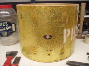 Franken-drum, before